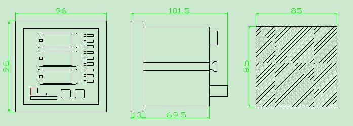 3.2 接线端子图